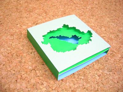 滋賀県の紙工作